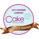 Bronze Award at Cake International London 2017